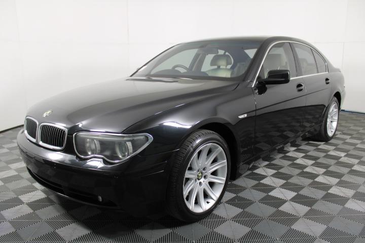 2003 (2004) BMW 745i E65 V8 Automatic Sedan 128,285km