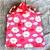 Super Soft Plush Infant Wrap Blanket with Hood. 75cm x 65cm plus hood