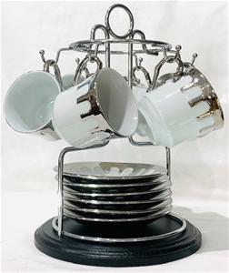Espresso Size Ceramic Coffee cups with S