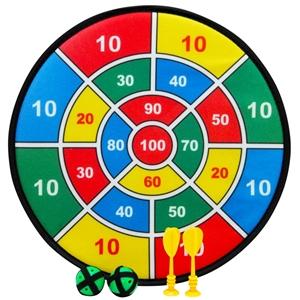 2 x Felt Target Board 2 velcro darts and