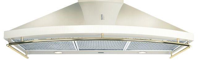 ILVE 90cm Canopy Rangehood (Antique White) (CN90/A)