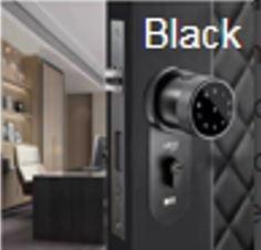 Smart Door Lock Black
