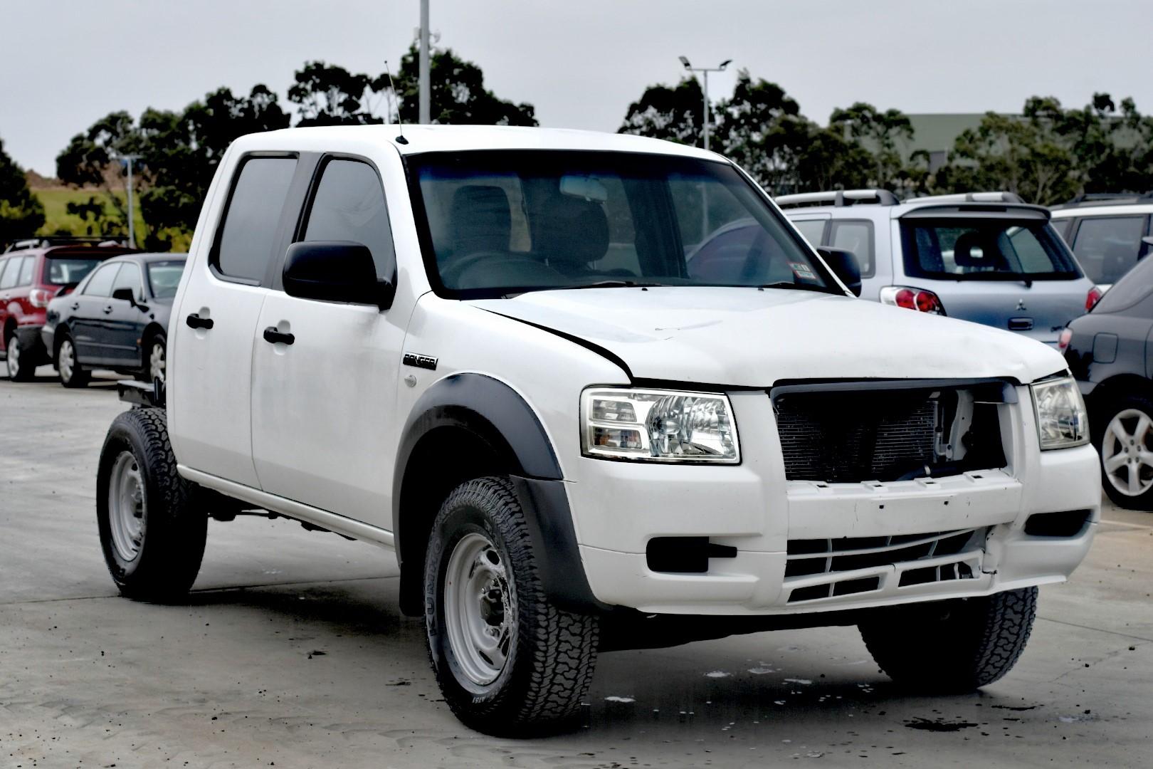 2008 Ford Ranger XL 4x2 Crew Cab PJ Turbo Diesel Auto Dual Cab (SALVAGE)