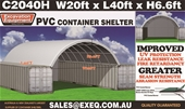 Unused Container Shelters - Sydney