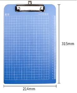 Plastic file Clipboard