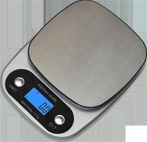 0.1g High Precision Kitchen Scale Rechar
