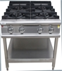 <Strong>BARON GAS 4 BURNER COOKTOP, QUALITY COMMERCIAL KITCHEN EQUIPMENT CL