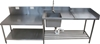 <Strong>STAINLESS STEEL SINGLE BOWL SINK WITH PREP SPACE, QUALITY COMMERCIA