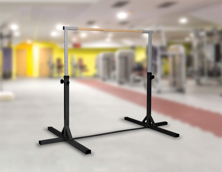 Gymnastics Training Bar Kids Adjustable Horizontal Kip Fitness Equipment