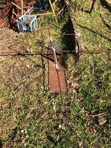 Irrigation stand