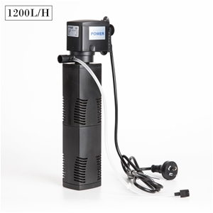 1200L/H 8W 1.6m Aquarium Submersible Fil