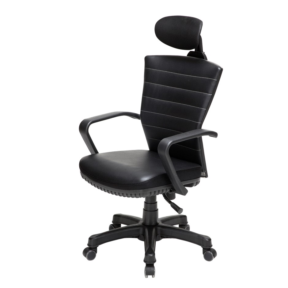 Korean Office Chair COZY - BLACK