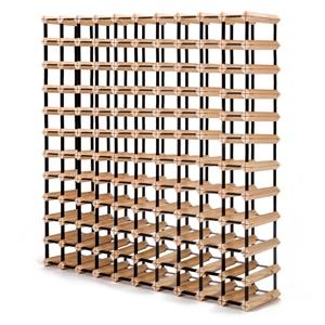 120 Bottle Timber Wine Rack