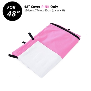 "48"" Cover for Wire Dog Cage - PINK"