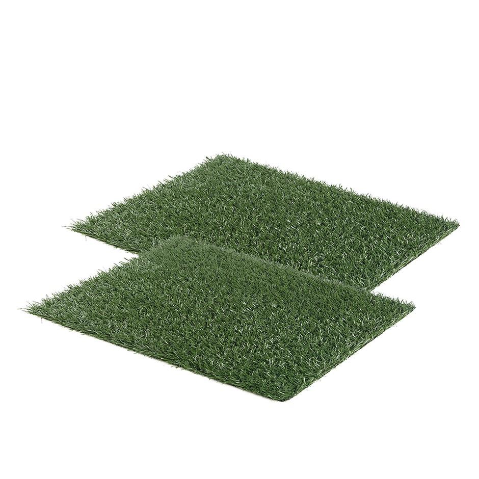2X 63.5cm x 38cm Grass Mats