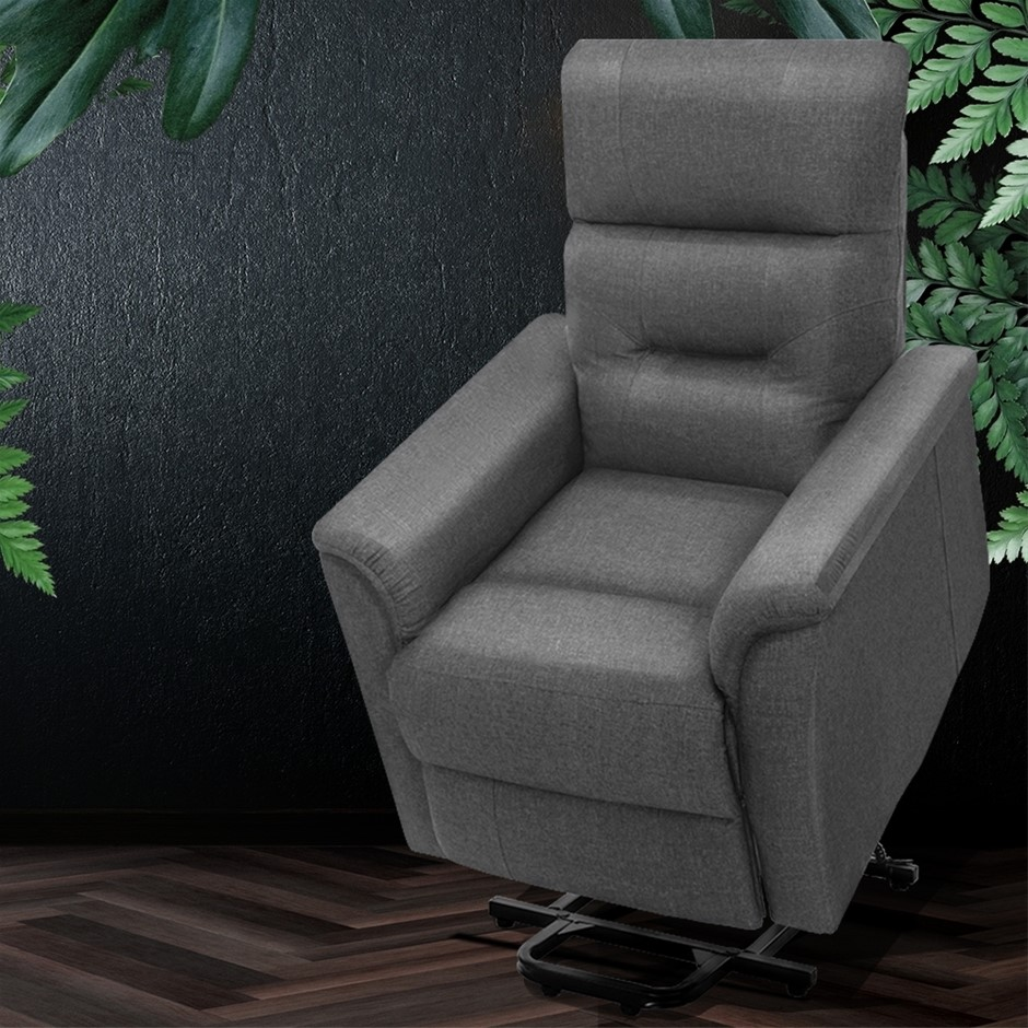 Artiss Recliner Lift Chair Adjustable Armchair Lounge Padded Sofa Single