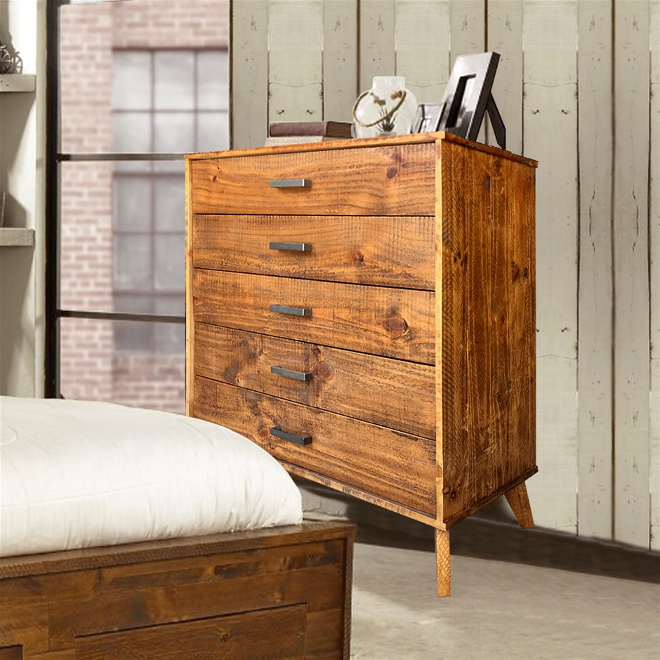 Our Cob&Co. Tallboy would look highly antique in any bedroom.