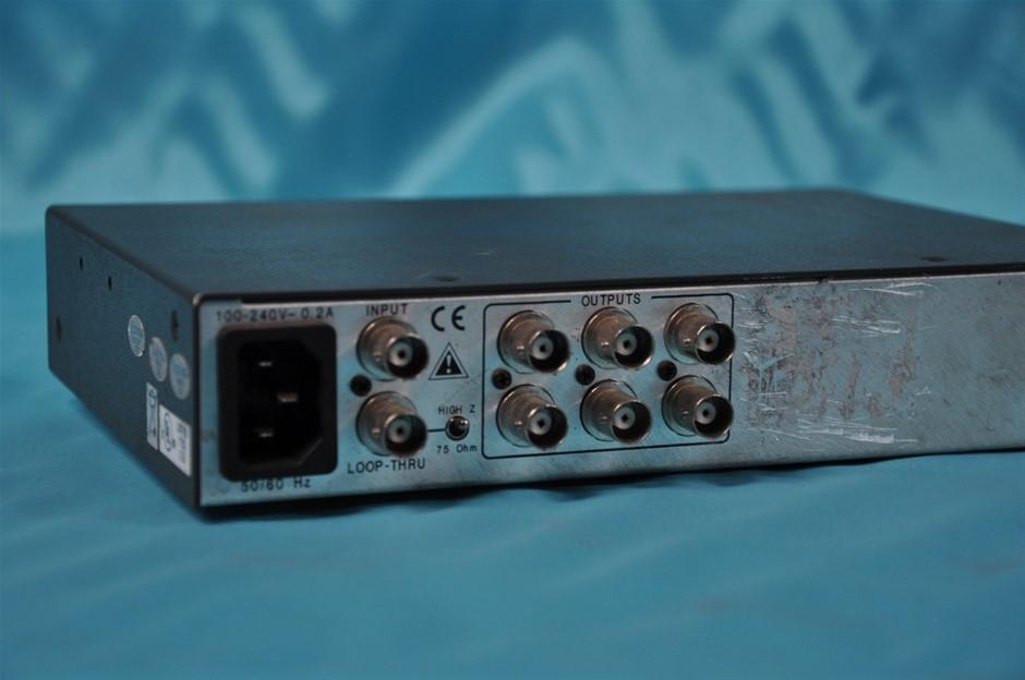 Extron DA AV EQ Video Audio Distribution Amplifier