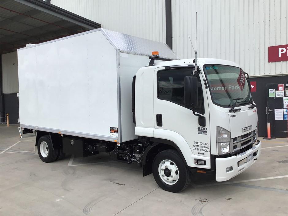 2014 Isuzu FRR 600 Long 4 x 2 Tipper Truck
