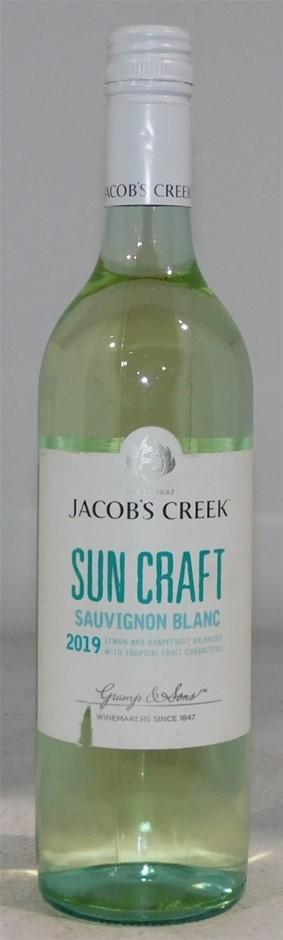 Jacobs Creek Suncraft Sauvignon Blanc 2019 (6x 750mL), SA