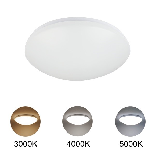 FL6620 - FUZION LIGHTING - LED Oyster 14 Colour Changeable