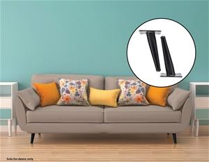4 x 15cm Metal Furniture Legs Mid Centur