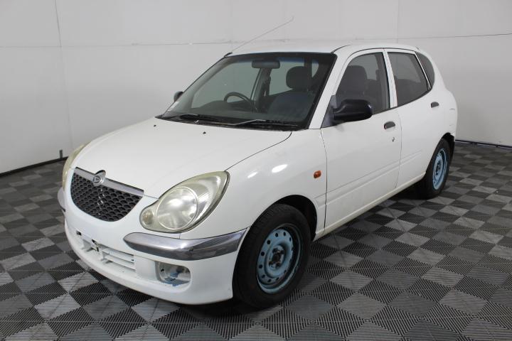 2004 Daihatsu Sirion M100 Automatic Hatchback