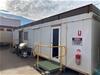13m x 3m Transportable Office Block on Skid