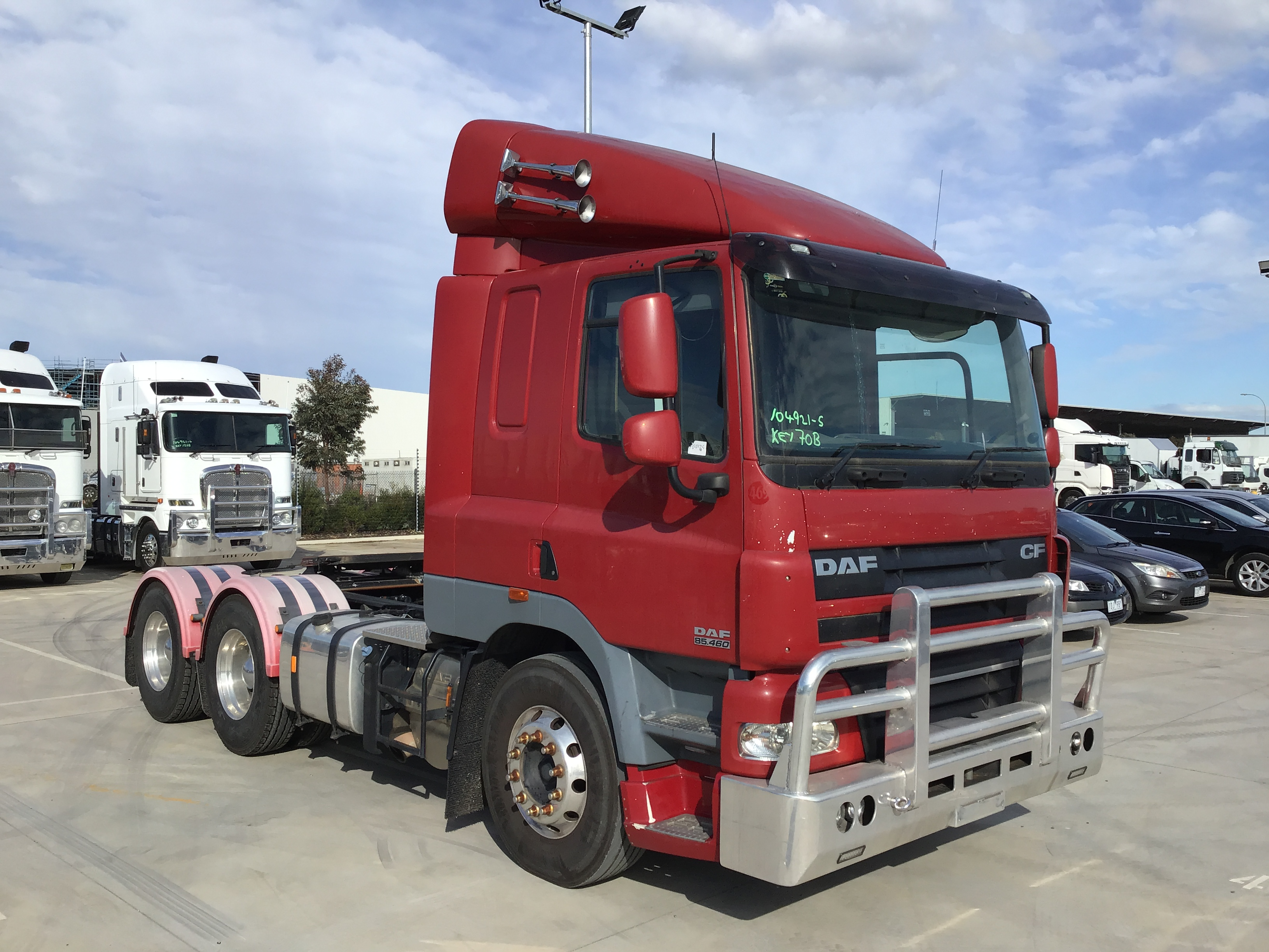 2014 DAF FTTCF85 6 x 4 Prime Mover Truck