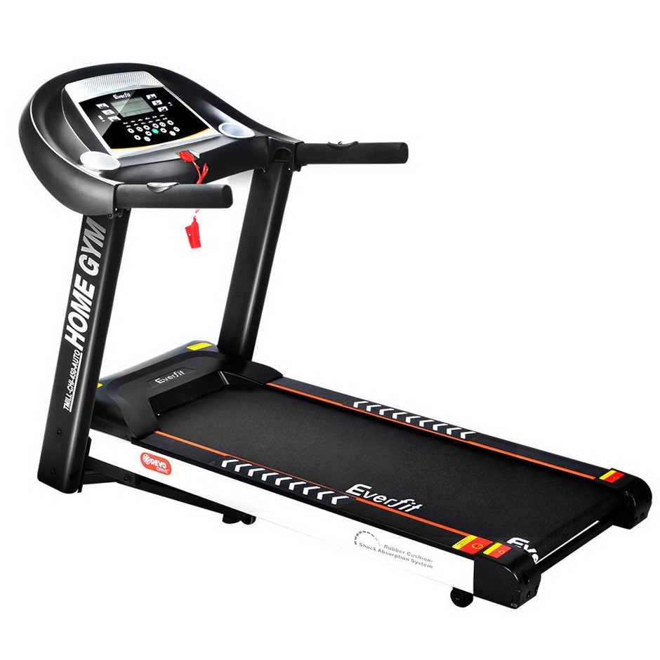Everfit Electric Treadmill 18 Speed Home Gym Fitness Machine