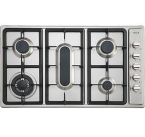 Euro 70cm 5 burner stainless steel gas cooktop, Model: EGZ70CTFGSXS