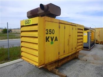 2005 Barclay GEN SET ENCL 350 KVA Silenced Enclosed Generator (MR316)