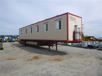 2011 Mobile Plains Mobile Accommodation SA150 Trailer Mounted Accommodaion Block (MR320)