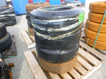 Pallets of Assorted Tyres & Rims