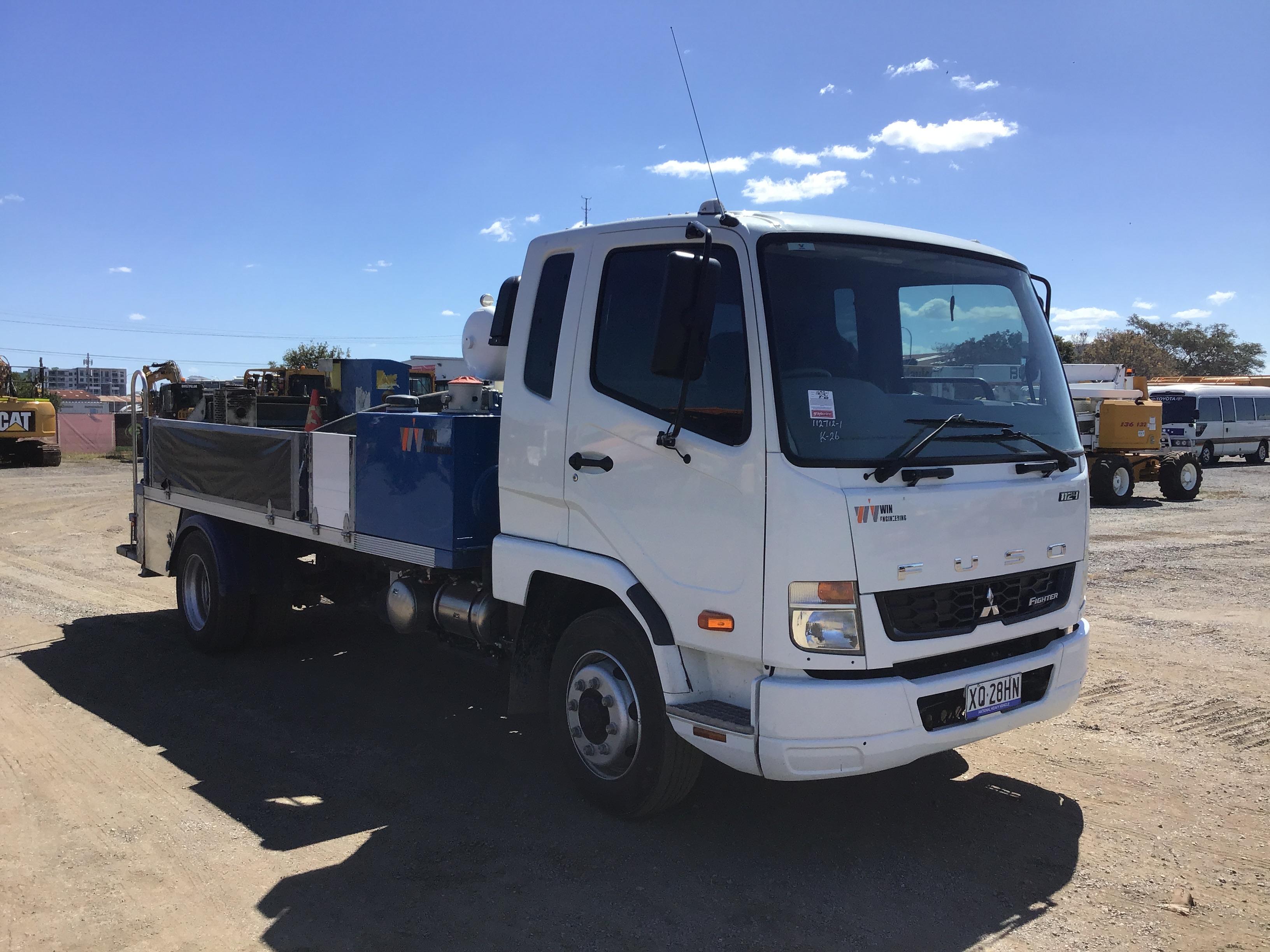 2019 Mitsubishi FK 600 4 x 2 Concrete Pump Truck