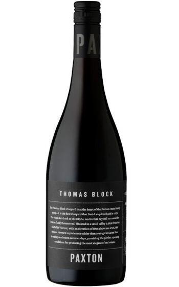 Paxton Thomas Block Grenache 2018 (6x 750mL), McLaren Vale. Screwcap.