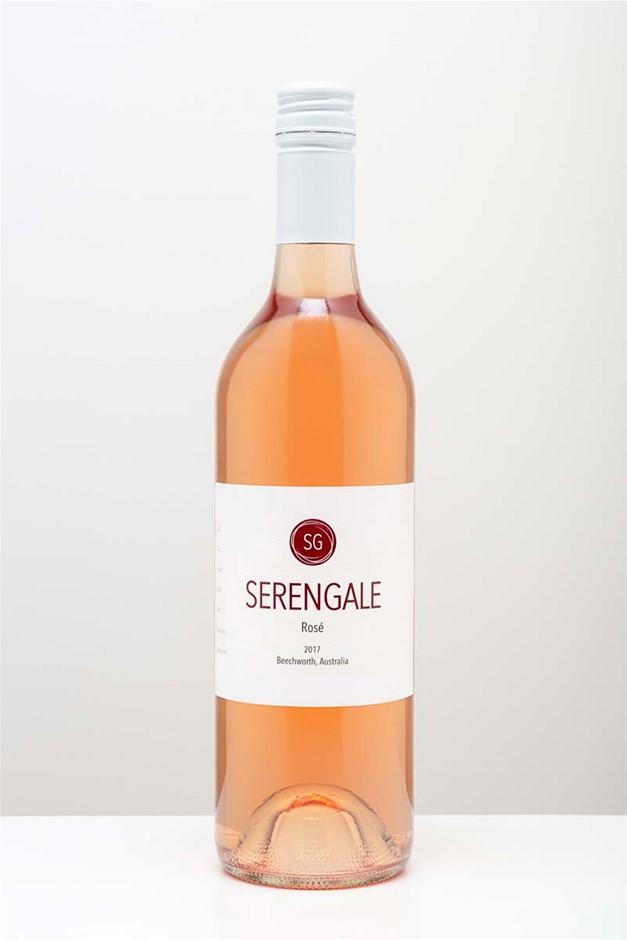 Serengale Rose 2019 (12x 750mL), VIC. Screwcap.