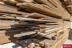 1x Packs of Assorted Recycled Timber Flo