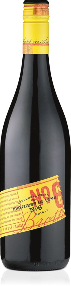 Brothers in Arms No Shiraz 2013 (6x 750mL).