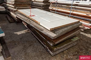13 x Assorted Recycled Timber Doors