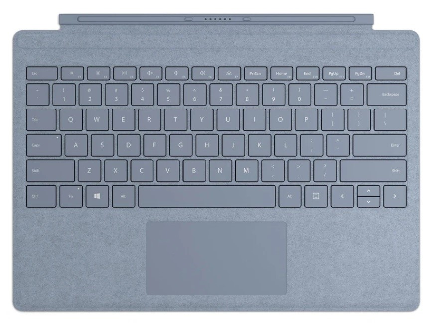 Microsoft Surface Pro 7 Signature Type Cover - Ice Blue