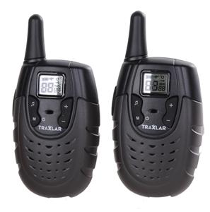 Pair TRAXLAR UHF CB Radios, 80 Channels,