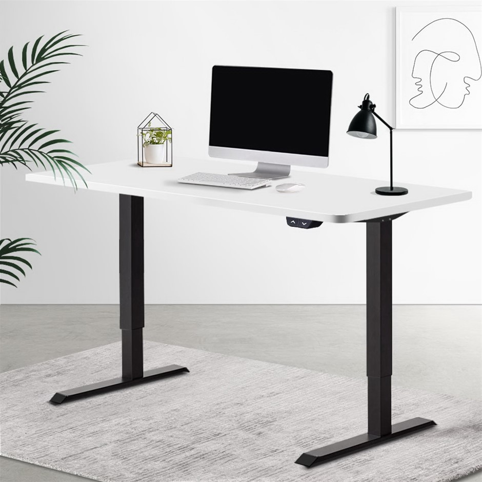 Artiss Standing Desk Motorised Electric Sit Table Riser Computer Desks