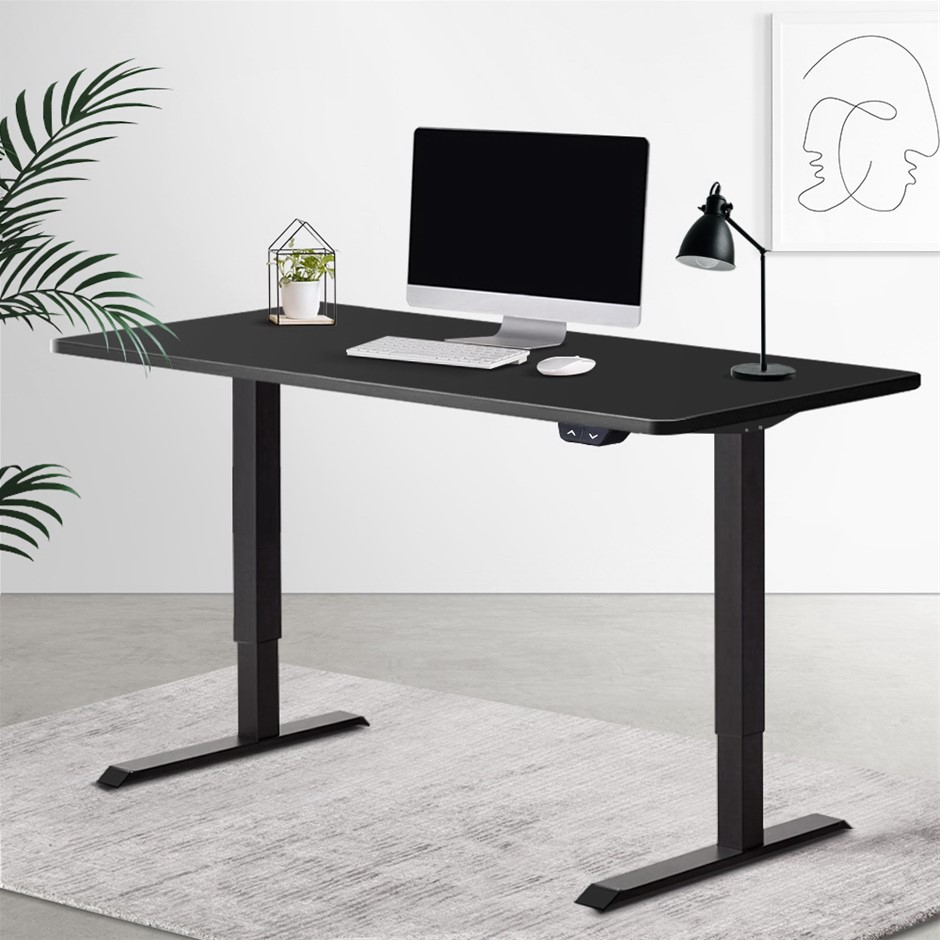 Artiss Standing Desk Sit Riser Height Adjustable Motorised Computer Table