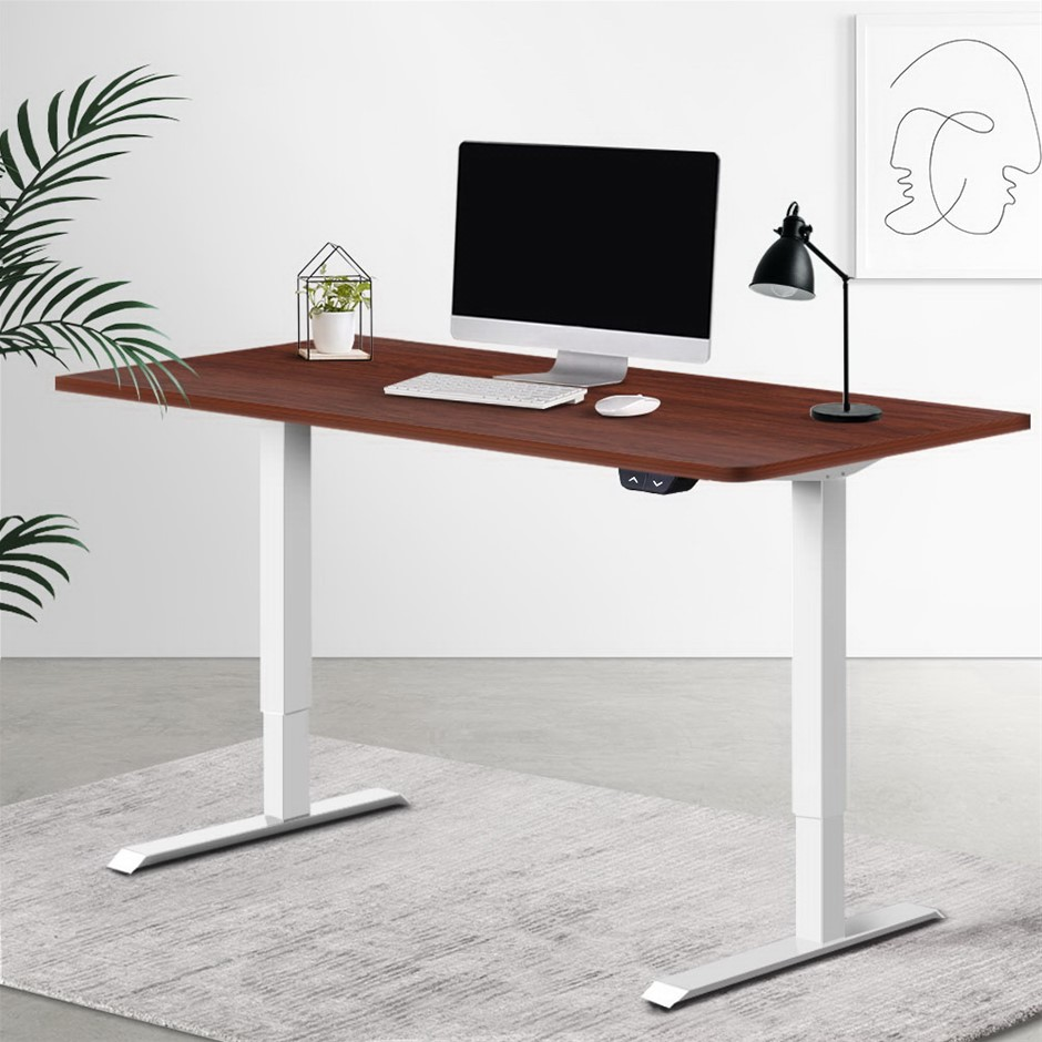 Artiss Standing Desk Sit Table Riser Motorised Height Adjustable Table