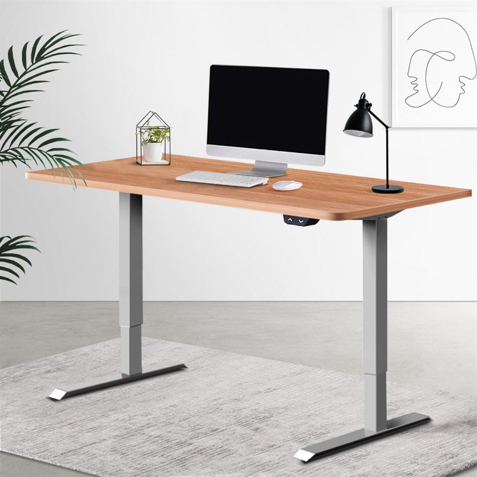 Artiss Standing Desk Sit Table Height Adjustable Motorised Frame Riser