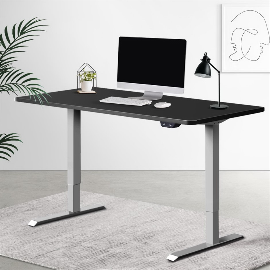 Artiss Height Adjustable Standing Desk Motorised Electric Riser Computer