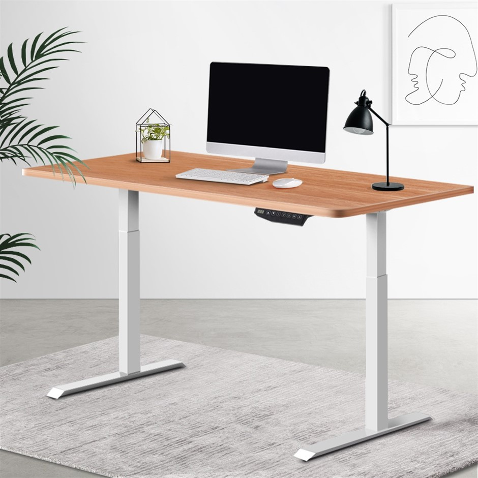 Artiss Standing Desk Sit Riser Motorised Electric Computer Table Office