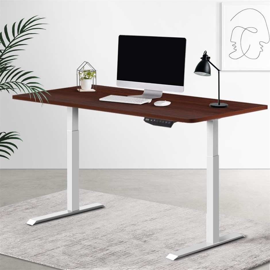 Artiss Sit Desk Standing Desks Motorised Electric Computer Table Office
