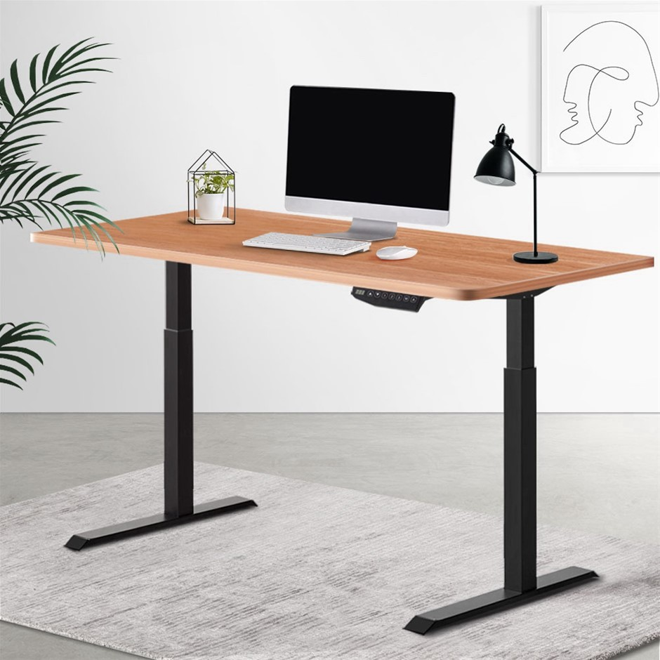 Artiss Standing Desk Motorised Sit Table Height Adjustable Computer Desks